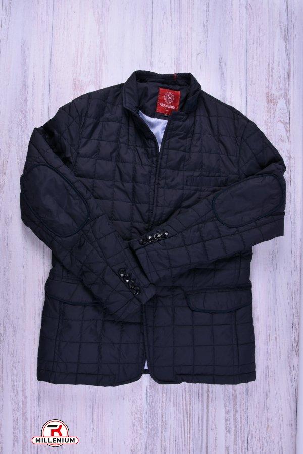 Куртка мужская из плащевки демисезонная Paolo Mark (цв.dark blue) Размеры в наличии : 48,52 арт.P00248
