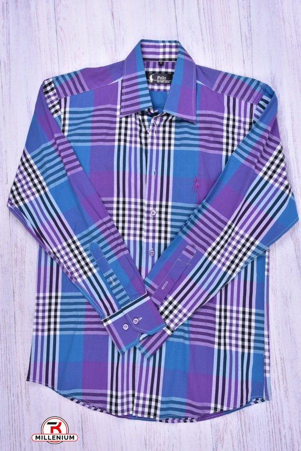 Рубашка мужская Polo (Cotton 100%) Размеры в наличии : 44,46,48 арт.A1-3