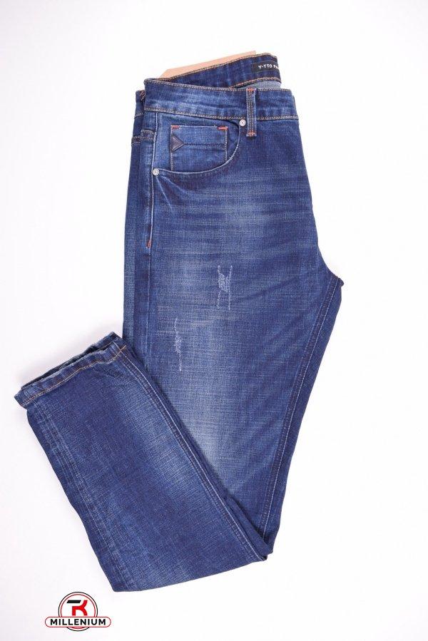 Джинсы мужские стрейчевые Y-TTO Fashion (Cotton 98%,Polyester 2%) Размеры в наличии : 29,32,35 арт.E8064-L30