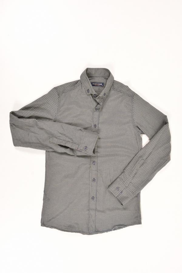 Рубашка мужская  (цв.хаки) Ronex Размер в наличии : 44 арт.07/07