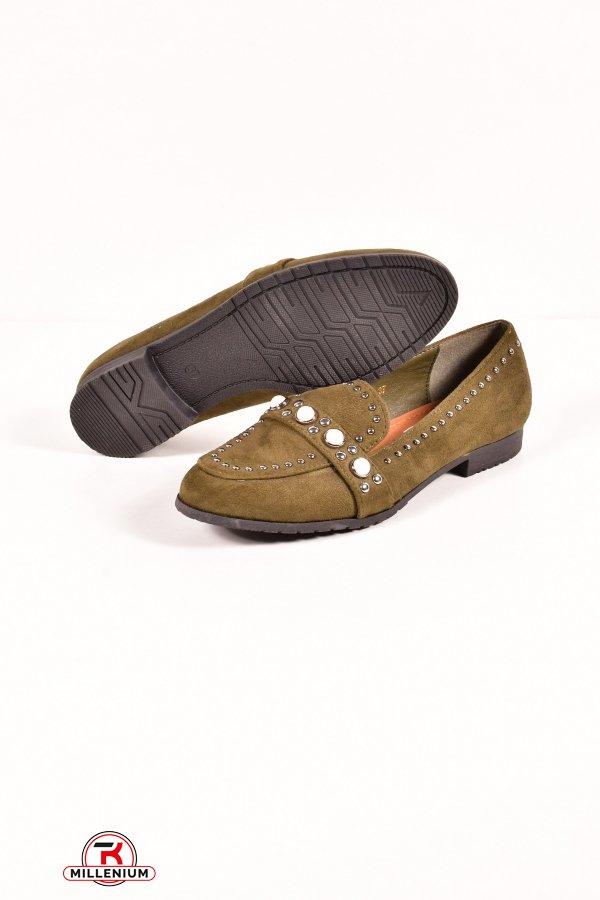 Туфли женские HOROSO Размеры в наличии : 36,37,38,39,40,41 арт.EN20-6E