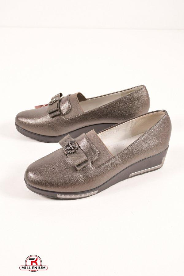 Туфли для девочки  L&L Размеры в наличии : 30,31,32,33,34,35,36,37 арт.LR-0631-3
