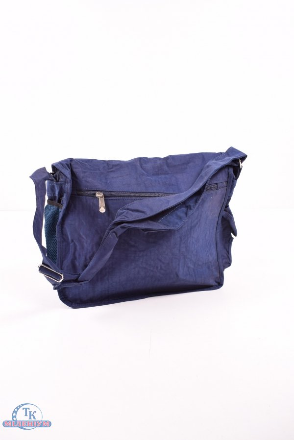 Сумка из плащевки (цв.синий) для девочки размер 35/32/14см арт.TB303
