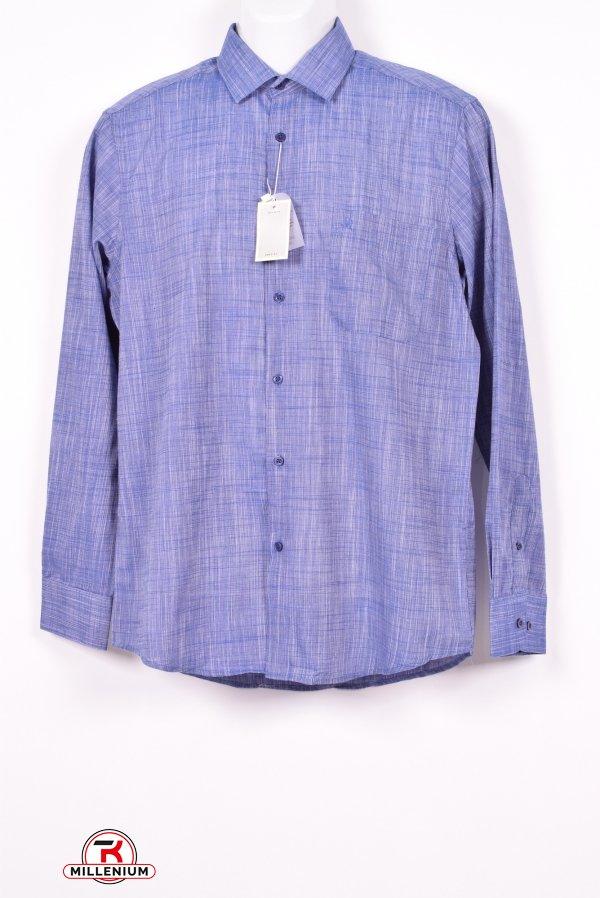 """Рубашка мужская """"Salvatore Russo"""" Размер ворота в наличии : 39,40,41,45 арт.SDK7602"""
