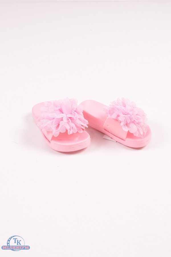 Шлепанцы для девочки (цв.розовый) LION Размеры в наличии : 24,25,26,27,28,29 арт.569-6