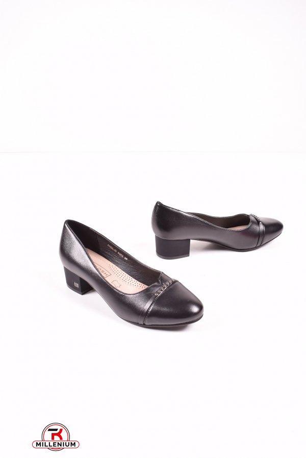 Туфли женские (цв.черный) MOLO Размеры в наличии : 36,37,38,39,40,41 арт.T602