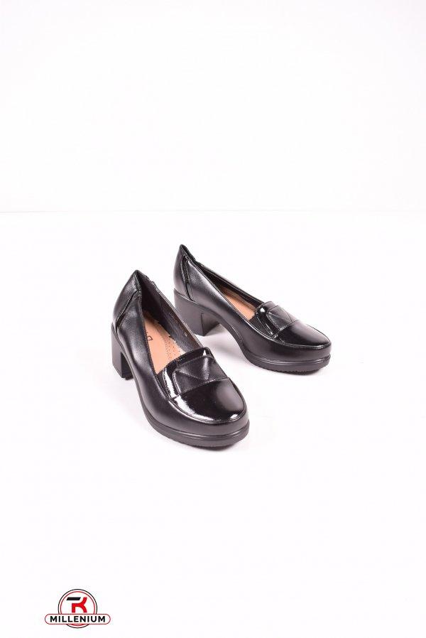Туфли женские (цв.черный) MOLO Размеры в наличии : 36,37,38,39,40,41 арт.714J