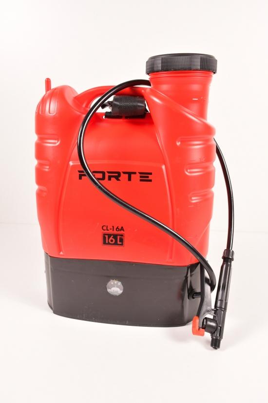 Опрыскиватель аккумуляторный рабочее давление 2,4, объём 16л арт.CL-16A