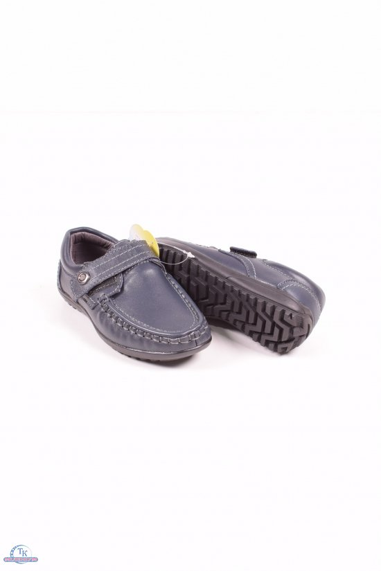 """Мокасины для мальчика с кожаными вставками """"Garstuk """" Размеры в наличии : 27,28 арт.L-6005"""