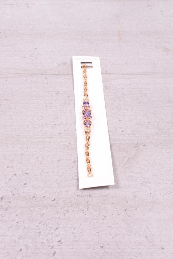Браслет женский под золото Fashion Jewelry 16 см арт.0022000