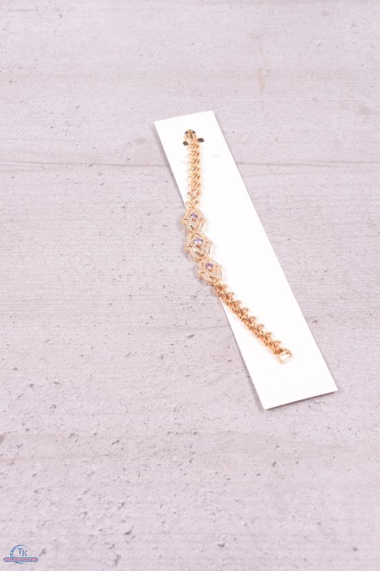 Браслет женский под золото Fashion Jewelry 16 см арт.00031000