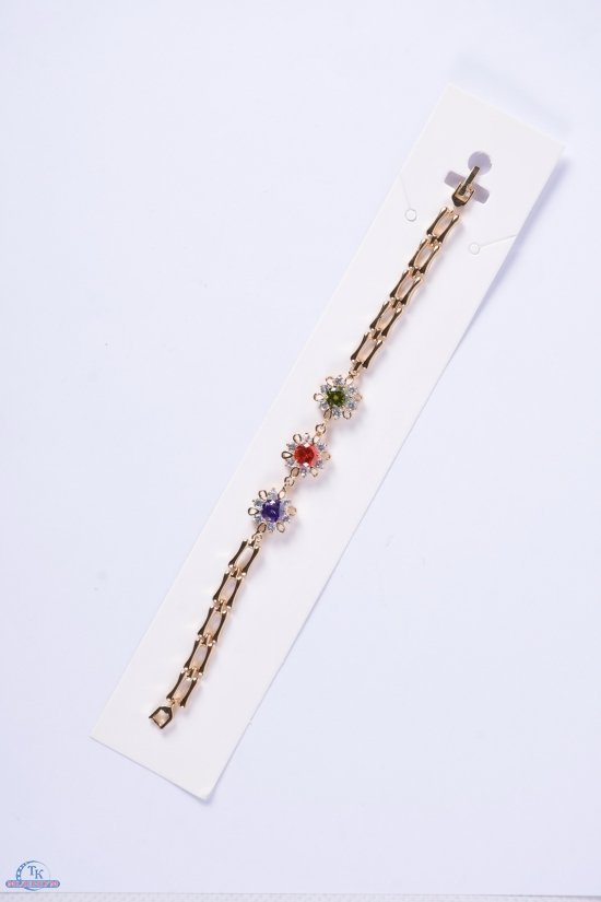 Браслет женский под золото Fashion Jewelry 16 см арт.00018000
