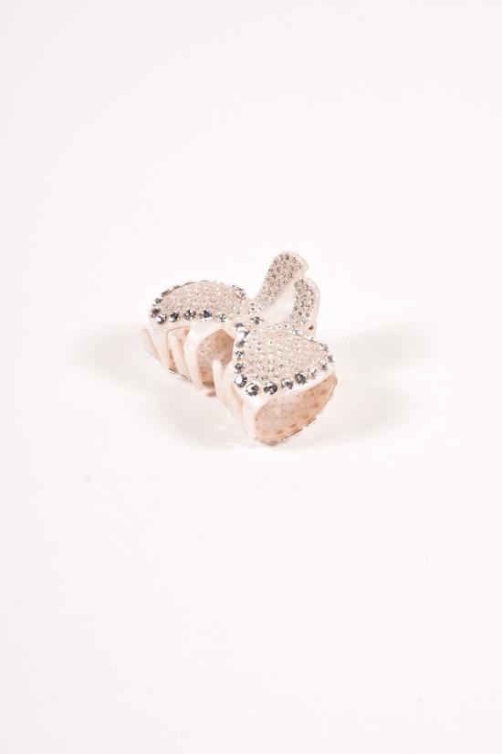 Заколка-краб для волос с камнями Swarovski арт.12323718