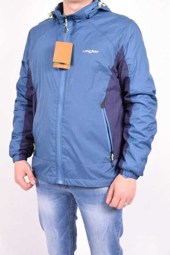 Куртка мужская из плащевки демисезонная  LIMICJEEP Размеры в наличии : 50,54 арт.1502