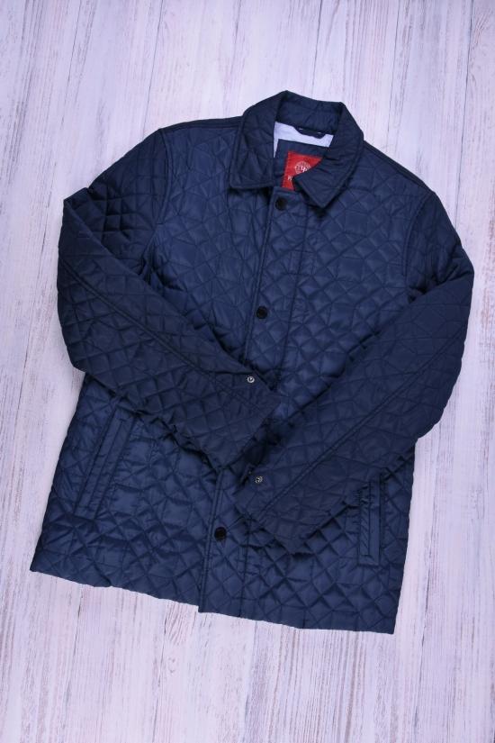 Куртка мужская из плащевки демисезонная Paolo Mark (цв.dark blue) Размеры в наличии : 48,50 арт.P9835