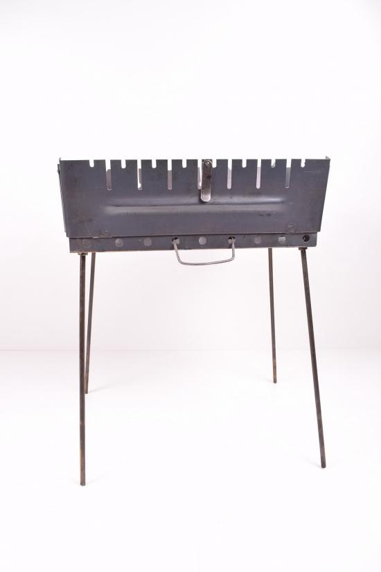 Складной мангал для шашлыков до 8 шампуров арт.№8