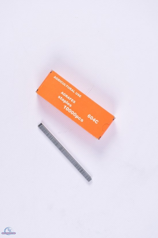 Скобы на степлера для подвязки винограда арт.604C