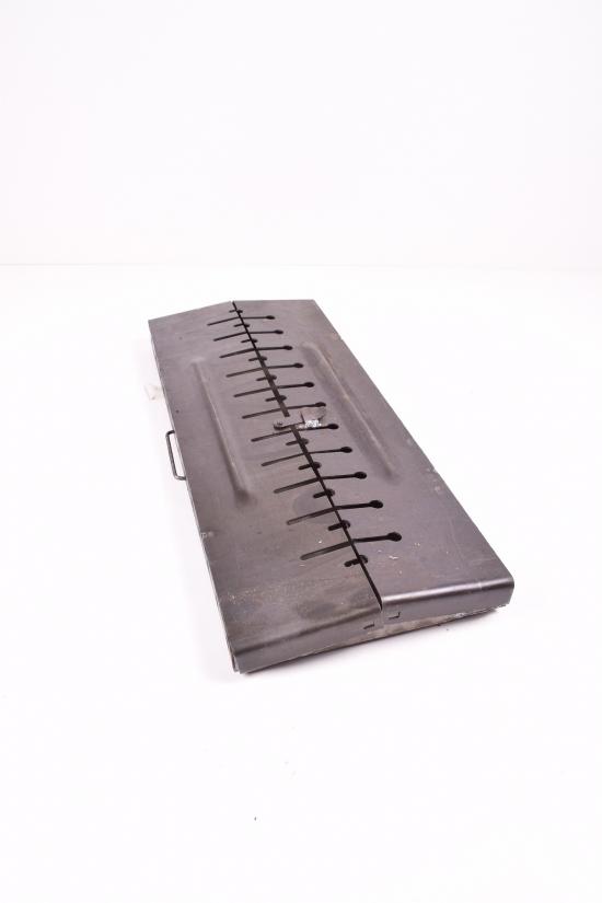 Складной мангал для шашлыков до 12 шампуров арт.№12