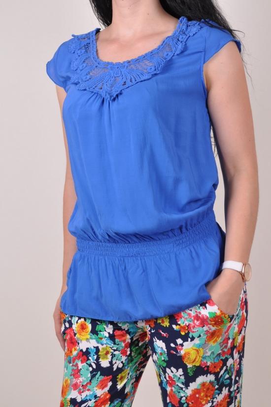 Блузка женская LU JIE Размеры в наличии : 40,42,44,46,48 арт.L-3013