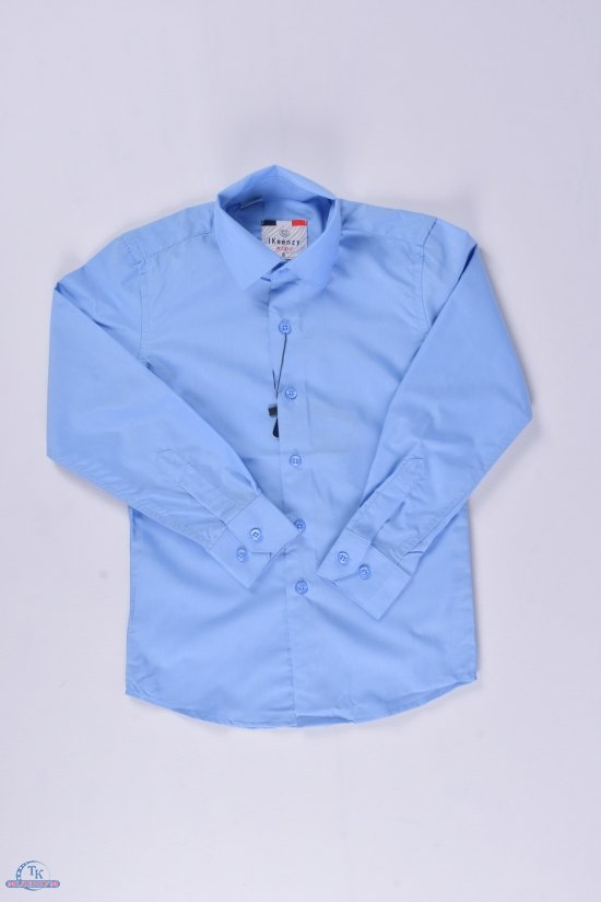 "Рубашка для мальчика (Slim Fit) ""IKEENZY"" Рост в наличии : 110, 122, 134, 140, 146, 158, 164 арт.B-SKY0927S"