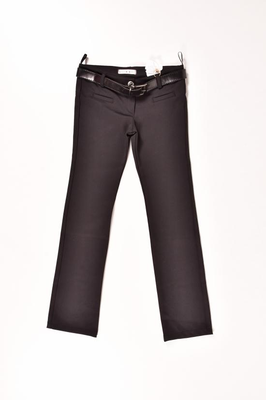 Брюки с поясом для девочки (цвет черный)  AWADORE Роста в наличии : 140,146,152,158 арт.212