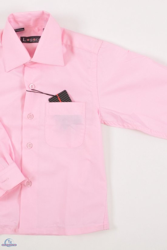 Рубашка для мальчика LAgard (рост 86-122) (Cotton 65%,Polyester 35%) Размер ворота в наличии : 26,27 арт.B-SKY0654