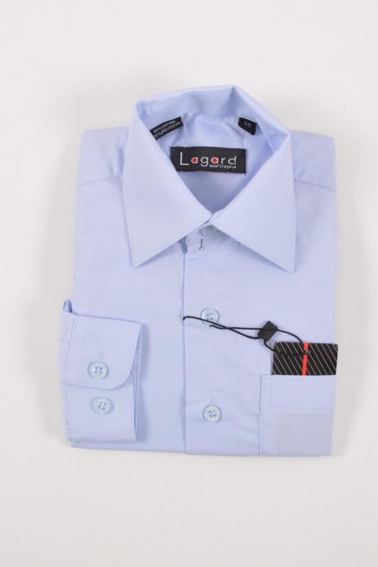 Рубашка для мальчика LAgard (рост 86-122) (Cotton 65%,Polyester 35%) Размер ворота в наличии : 26,27,28 арт.B-SKY0655