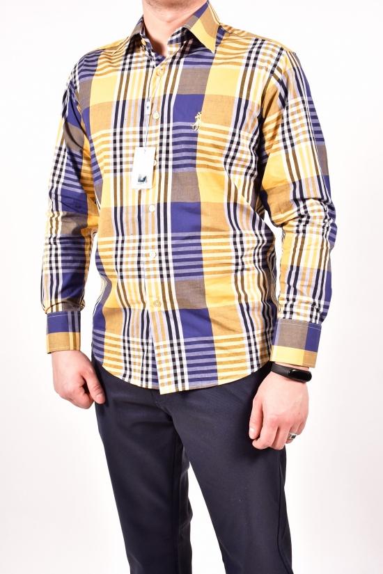 Рубашка мужская Polo (Cotton 100%) Размеры в наличии : 44,46,48,52 арт.A1-2
