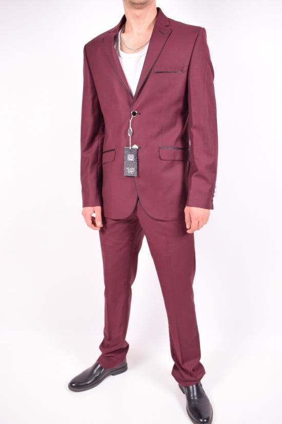Костюм мужской классический (11264) цвет 18 рост 6 Palmiro Rossi (Cotton 25%,Polyamide 15%,Wool 60%) Размеры в наличии : 46,50 арт.115