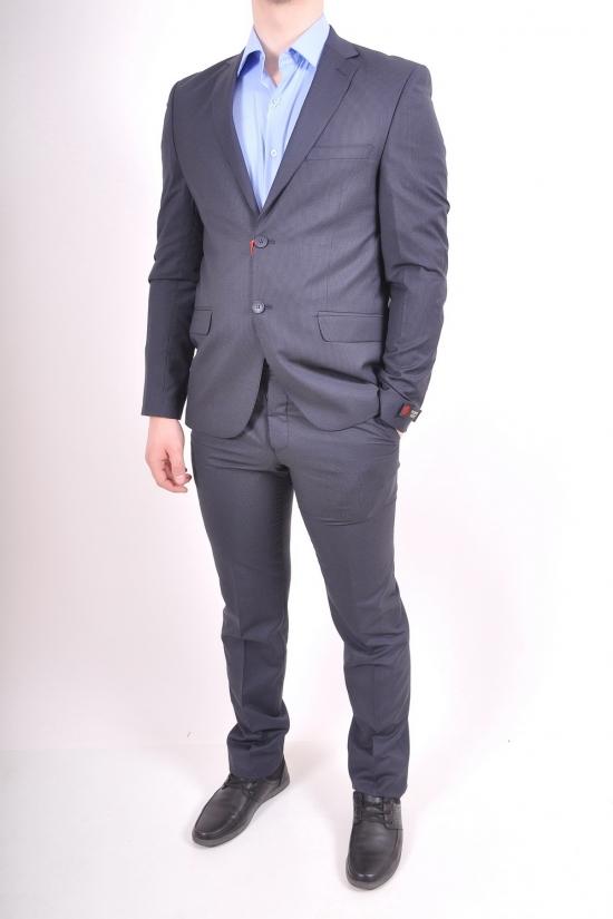 Костюм мужской классический (EY0302) цвет 04 рост 6 Palmiro Rossi (Cotton 25%,Polyamide 15%,Wool 60%) Размеры в наличии : 46,48,50,52 арт.8091