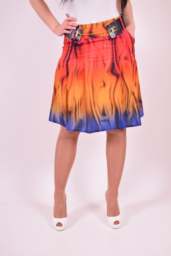 Юбка женская с поясом Slow (Lycra 5%,Polyester 62%,Viscose 32%) Размеры в наличии : 42,44,48 арт.5029