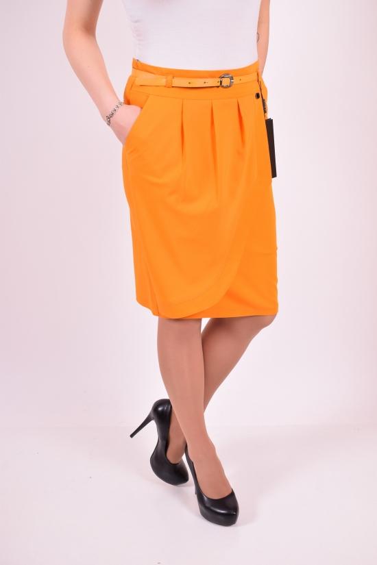 Юбка женская с поясом Slow (Lycra 5%,Polyester 62%,Viscose 32%) Размеры в наличии : 42,44,46 арт.8351