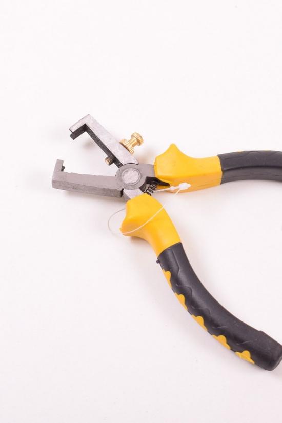 Плоскогубцы для зачистки проводов Vorel 160мм. арт.40056