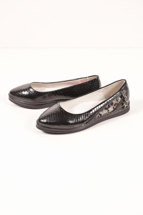 Туфли для девочки L&L Размеры в наличии : 33, 37 арт.LI16-013-1