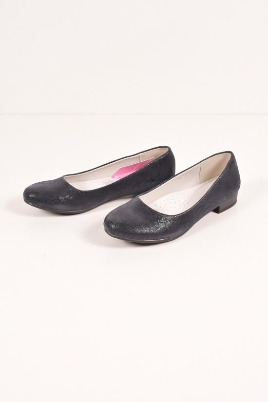 Туфли для девочки L&L Размеры в наличии : 32, 34, 35, 37 арт.LL-A125-2