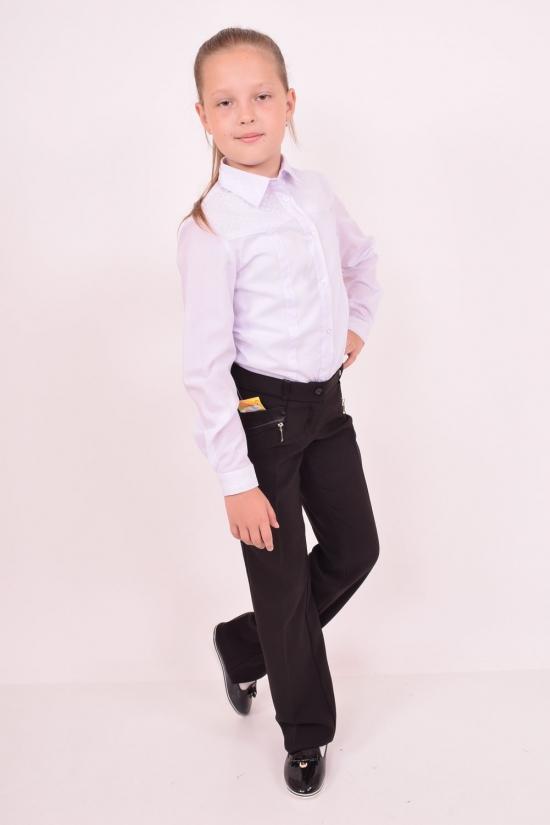 Брюки для девочки (цв.черный) (Lycra 5%,Polyester 35%,Wool 60%) Роста в наличии : 116,122,128,134,140,146,152 арт.Грация