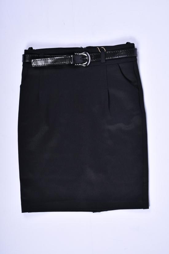Юбка стрейчевая для девочки (цв.черный) AWADORE Рост в наличии : 116, 122, 128, 134 арт.0042