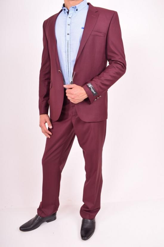 Костюм мужской классический (11264) цвет 18 рост 6 Palmiro Rossi (Cotton 25%,Polyamide 15%,Wool 60%) Размеры в наличии : 42,44,46,48 арт.131