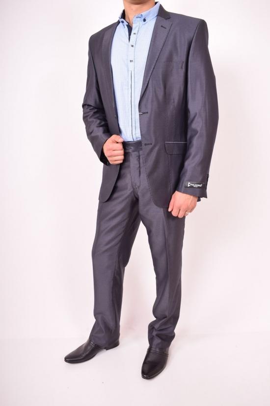 Костюм мужской классический (3001) цвет 03 рост 6 Palmiro Rossi (Cotton 25%,Polyamide 15%,Wool 60%) Размер в наличии : 42 арт.101