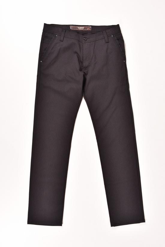 Брюки мужские  LE GUTTI (Lycra 5%,Polyester 71%,Viscose 24%) Размеры в наличии : 28,29,30 арт.1453.