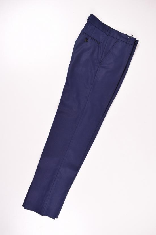 Брюки классические для мальчика (цв.т.синий) BOLD (Polyester 35%,Viscose 65%) Размер в наличии : 34 арт.19002