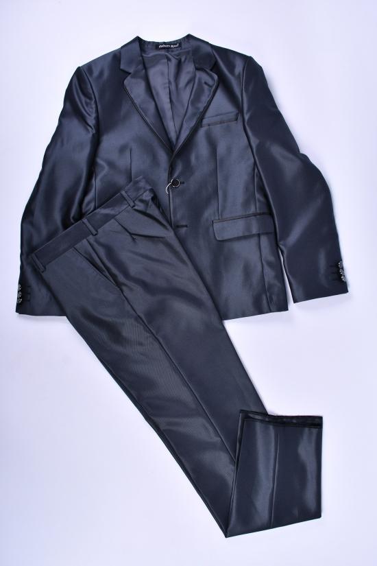 Костюм классический для мальчика (Tarkan) color 12 Palmiro rossi (Cotton 25%,Polyamide 15%,Wool 60%) Размер в наличии : 40 арт.115/12