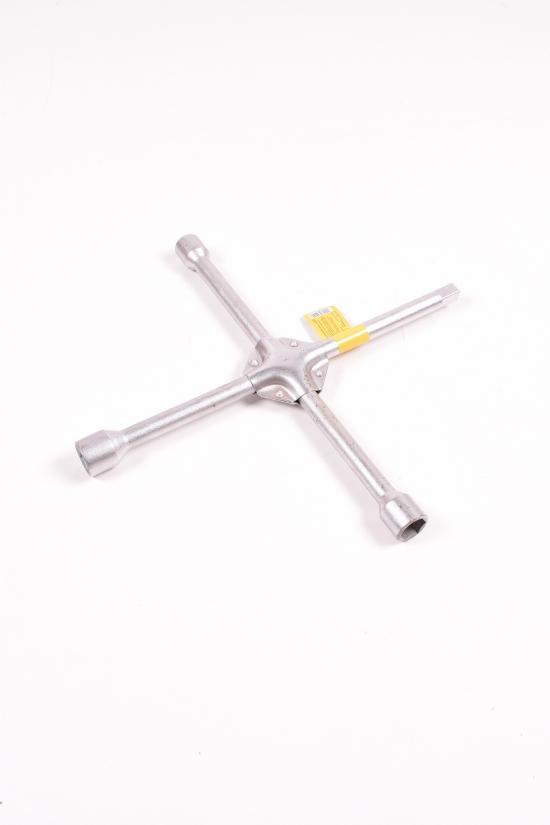 Ключ крестовой 17/19/21/1/2 (усиленный 16мм) арт.6031011