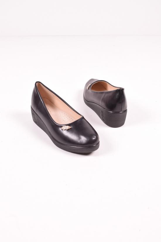 """Туфли для девочки из кожзама """"Бабочка"""" Размеры в наличии : 31,32,33 арт.802-28"""