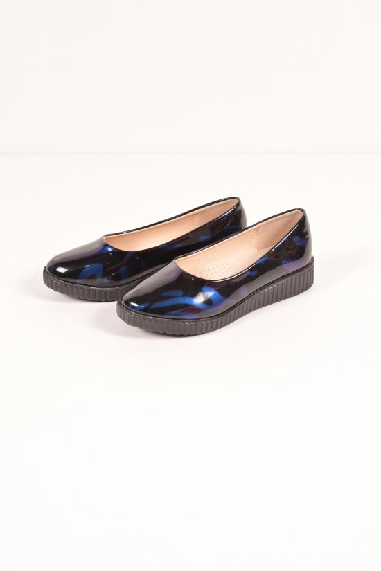 """Туфли для девочки лаковые """"Бабочка"""" Размеры в наличии : 31,32,33,34,35,36 арт.804-88"""