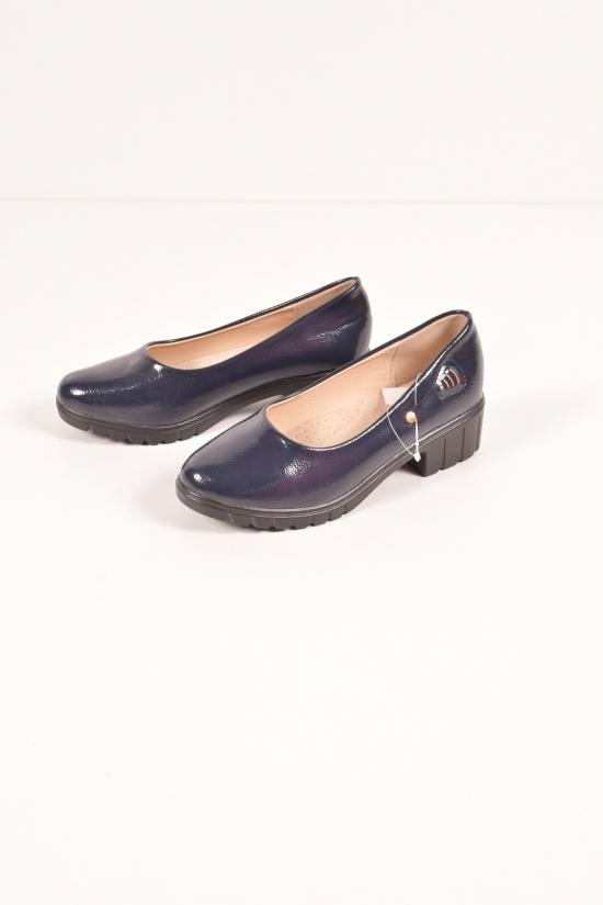 """Туфли для девочки лаковые """"Бабочка"""" Размер в наличии : 34 арт.803-58"""