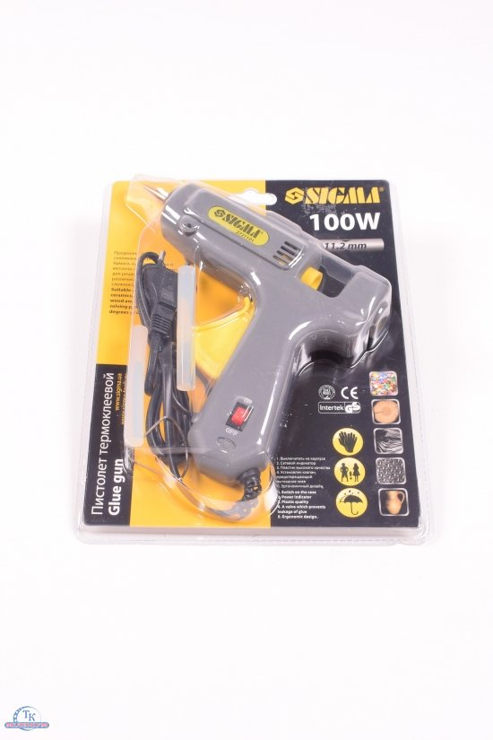 Пистолет термоклеевый с выключателем 100Вт арт.2721101