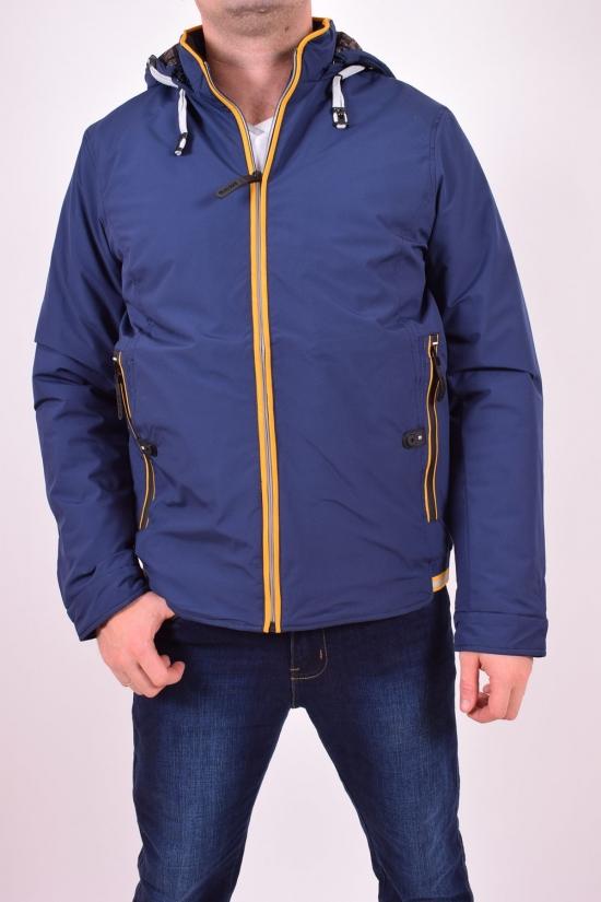 Куртка мужская из плащёвки демисезонная M3 (цв.1) (Polyester 100%) Размер в наличии : 46 арт.1764