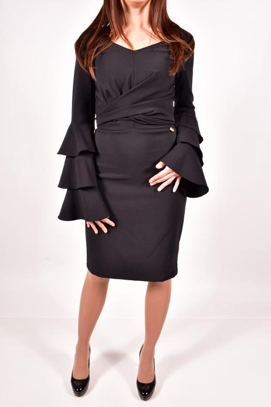 Платье женское (цв.чёрный) OBEN Размеры в наличии : 42,44,46,48 арт.015-10928