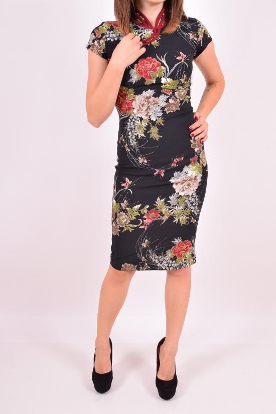 Платье женское (цв.чёрный) OBEN Размеры в наличии : 42,44,48 арт.015-10894